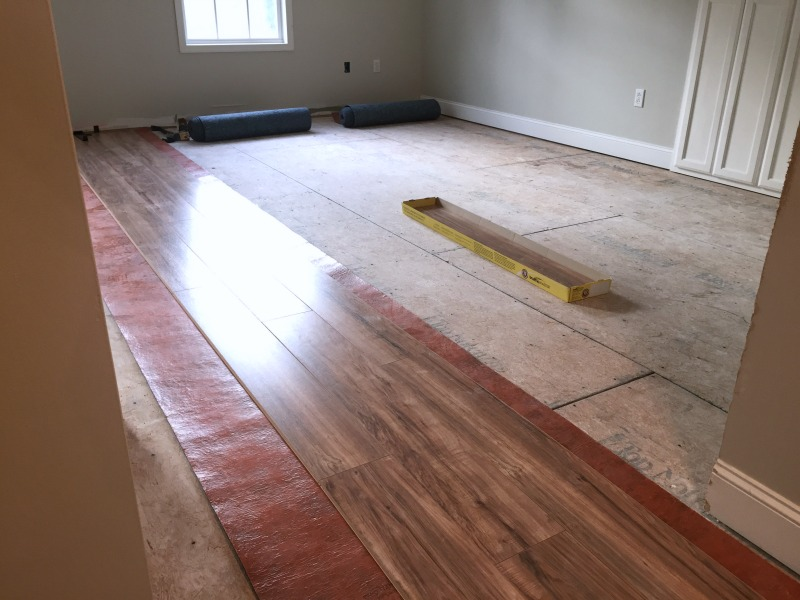 Diy Laminate Floor Installation Our Alabama Life