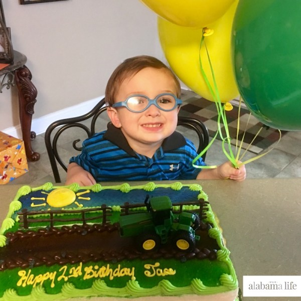 A Second Birthday Celebration for Jase