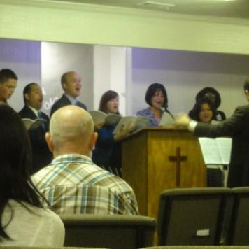 Choir Debut