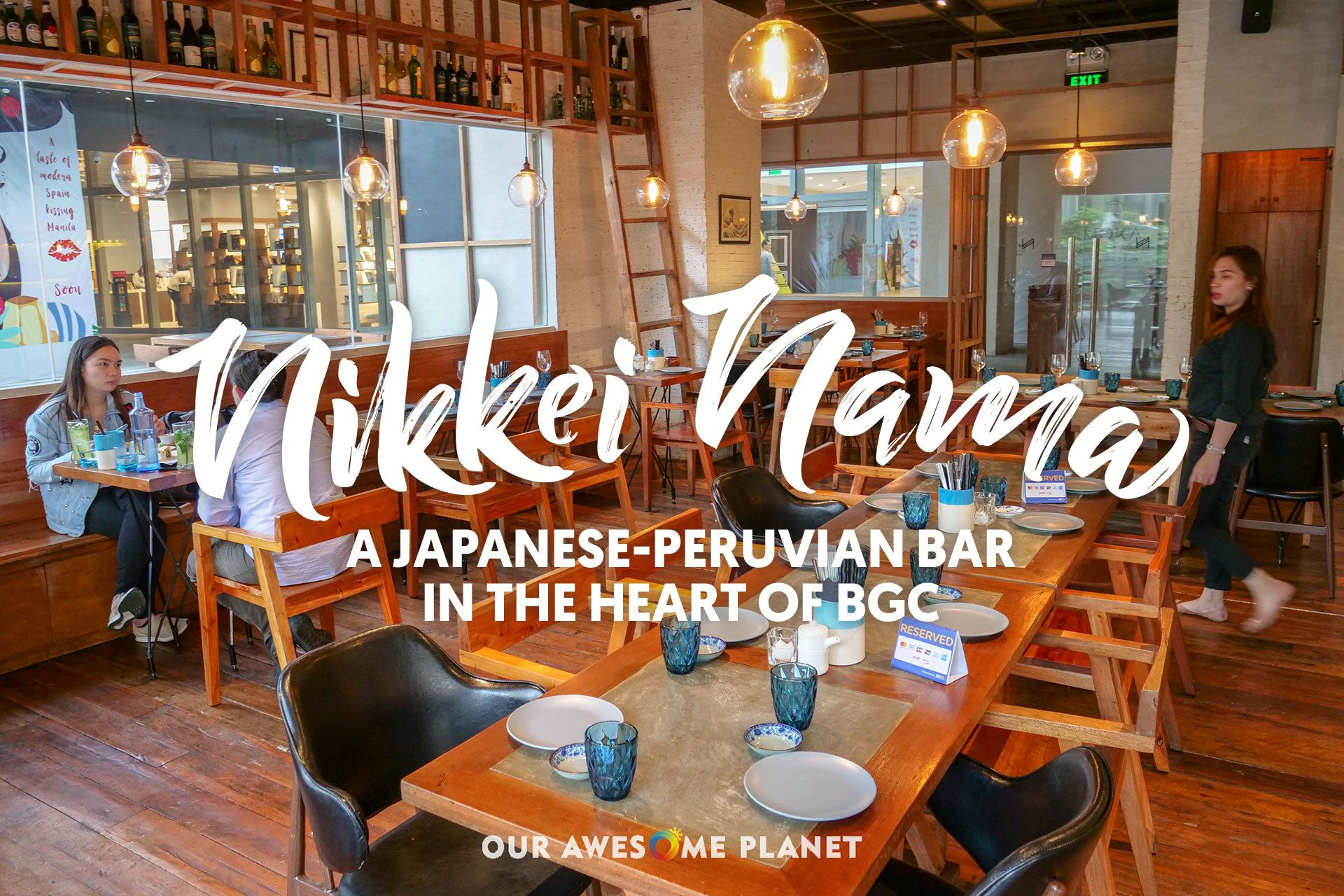 Nikkei Nama Bar Bgc Japanese Peruvian With An Awesome View At One