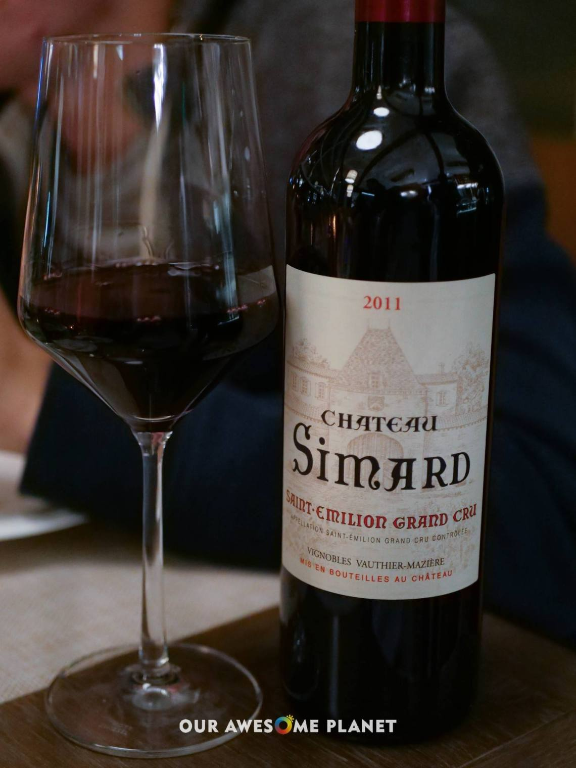 Chateau Simard Saint Emilion Grand Cru (Glass -₱900, Half-Bottle -₱1,700, Bottle -₱4,000)