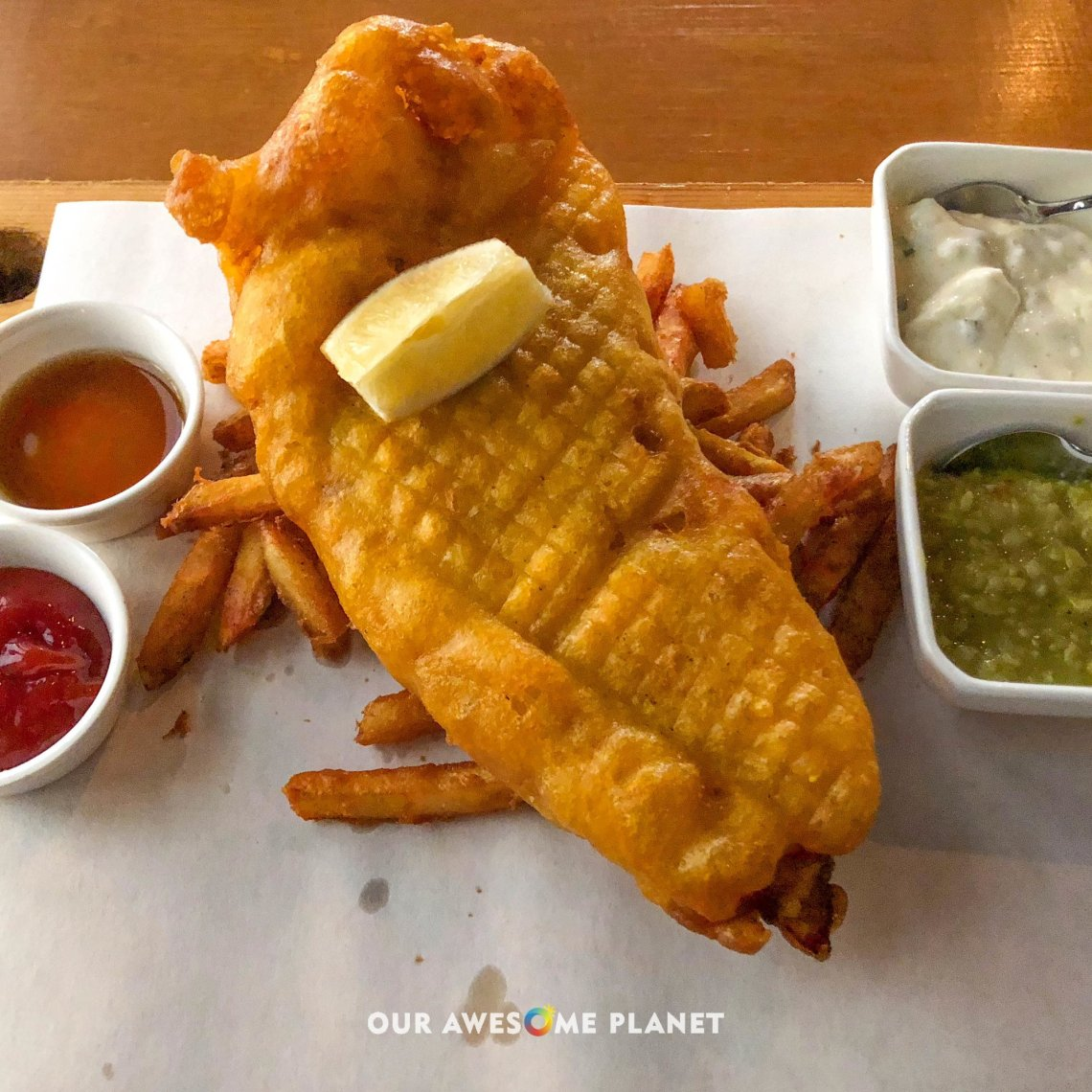 Pub-Style Fish and Chips