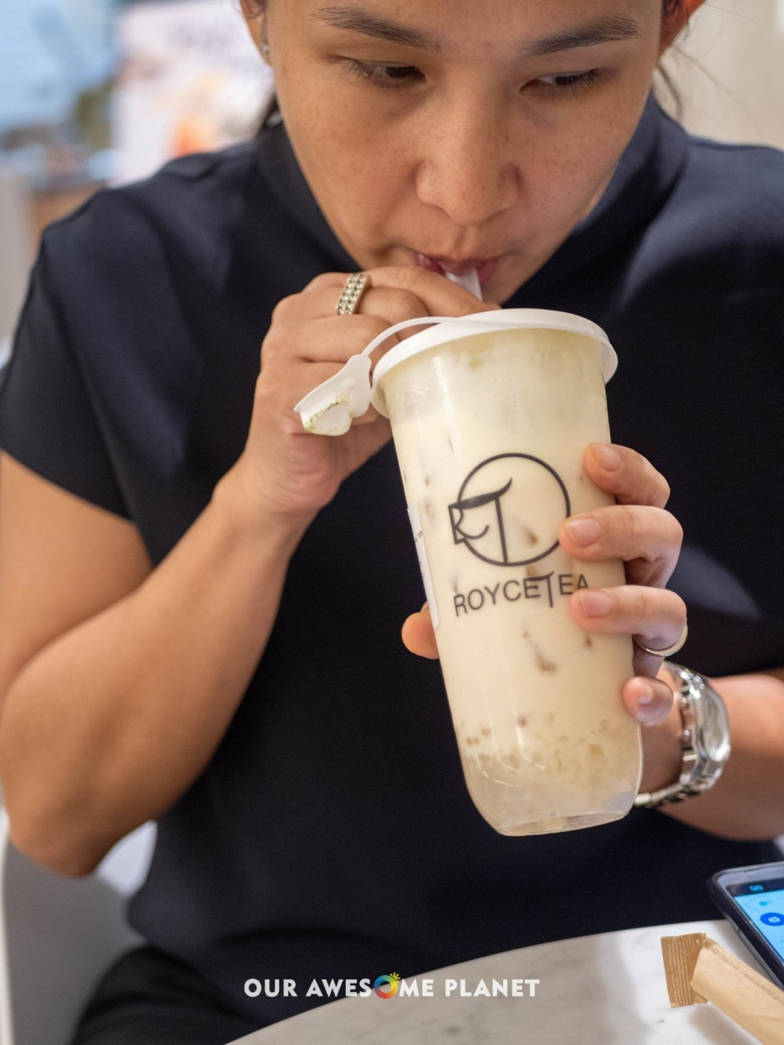 Royce Cheese Milk Tea