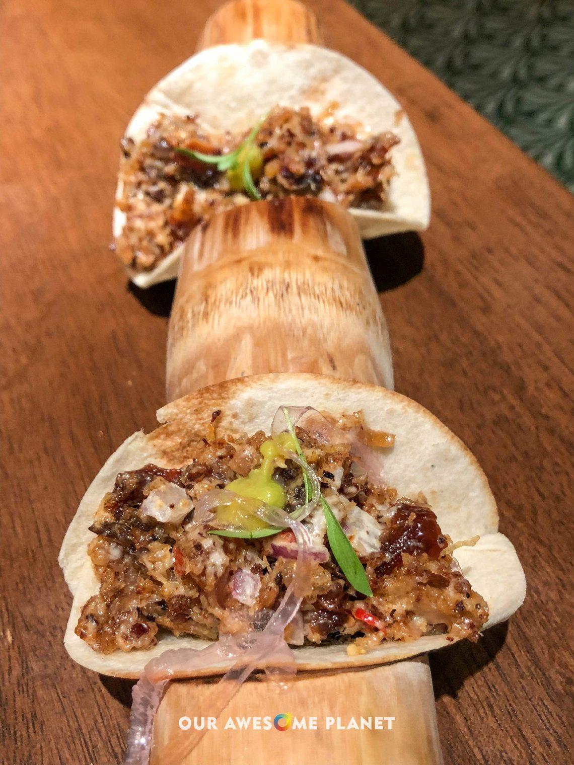 Sisig Pibil Tacos