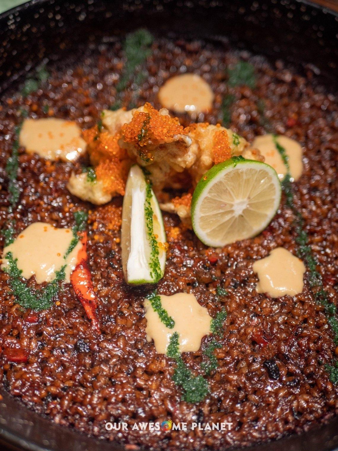 Chili Crab Paella