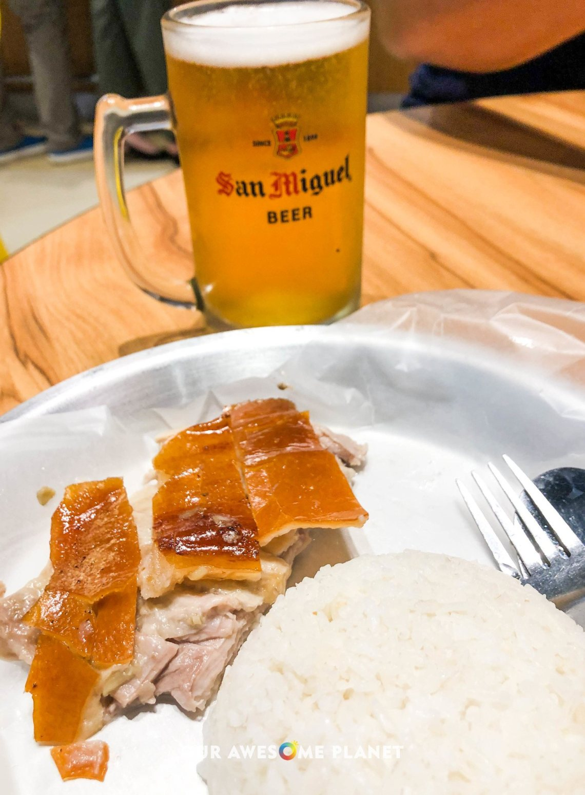 Lechon with Rice