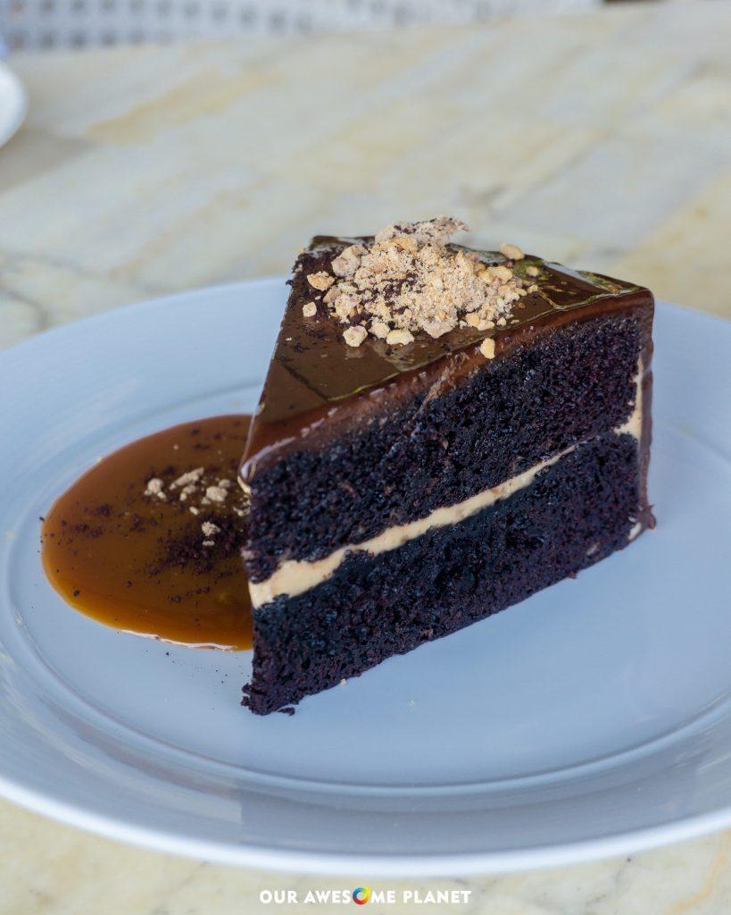 Tablea Chocolate Cake