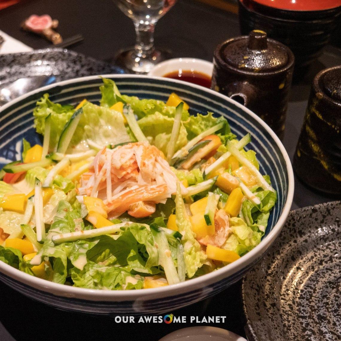 Kani Mango Salad