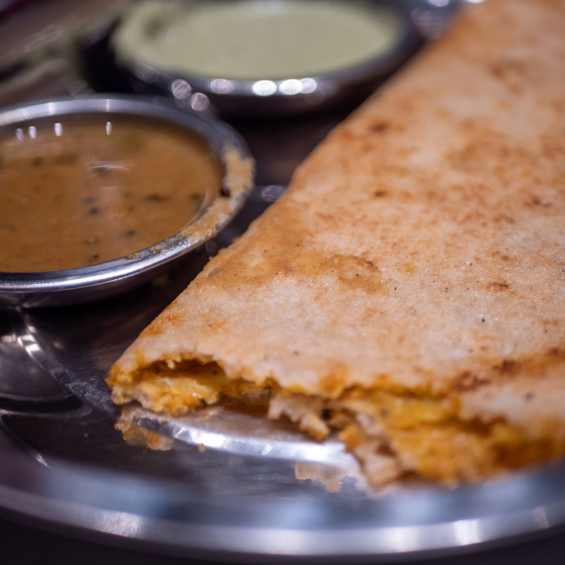 Gunpower Egg Dosa
