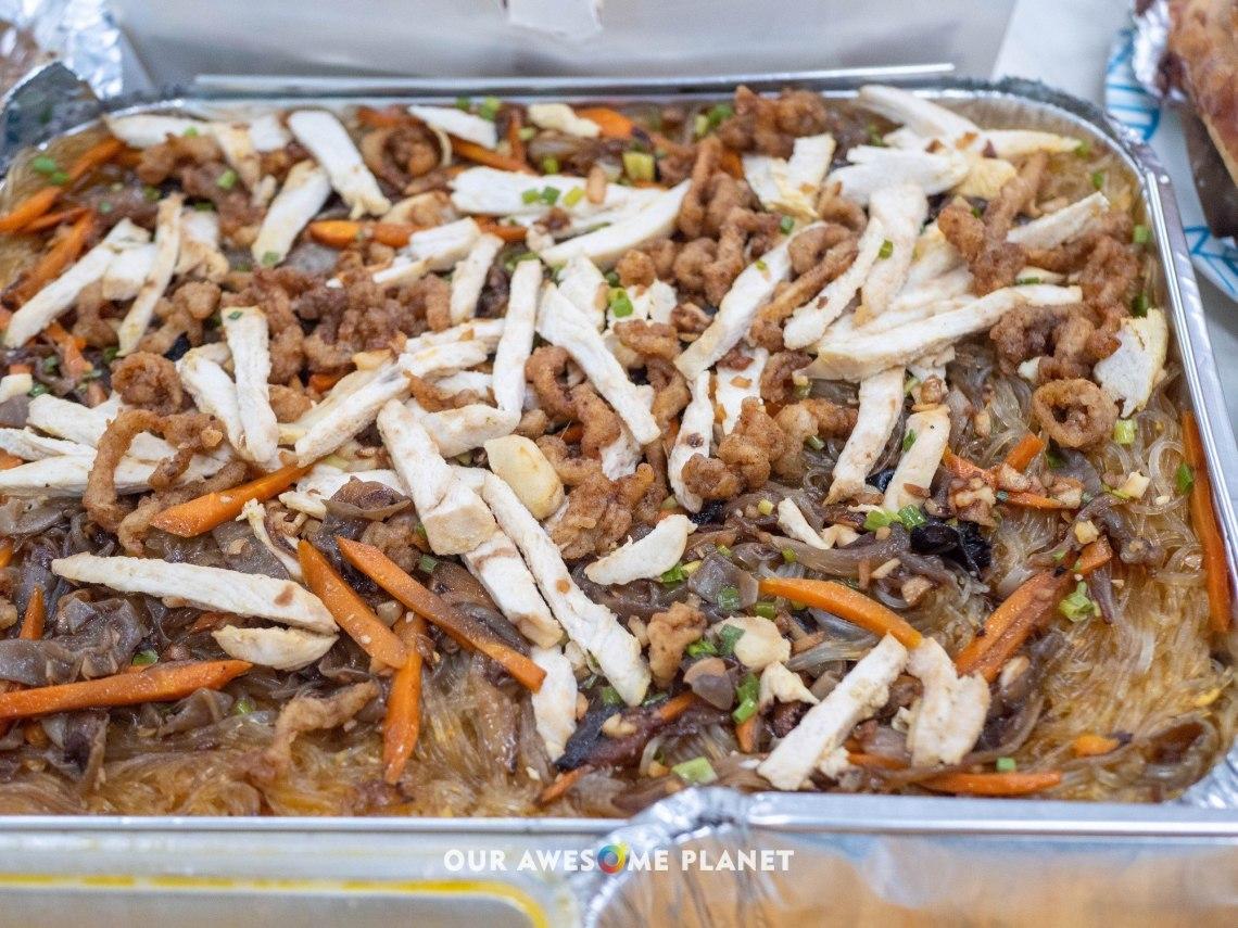 Stir Fried Garlic Sotanghon
