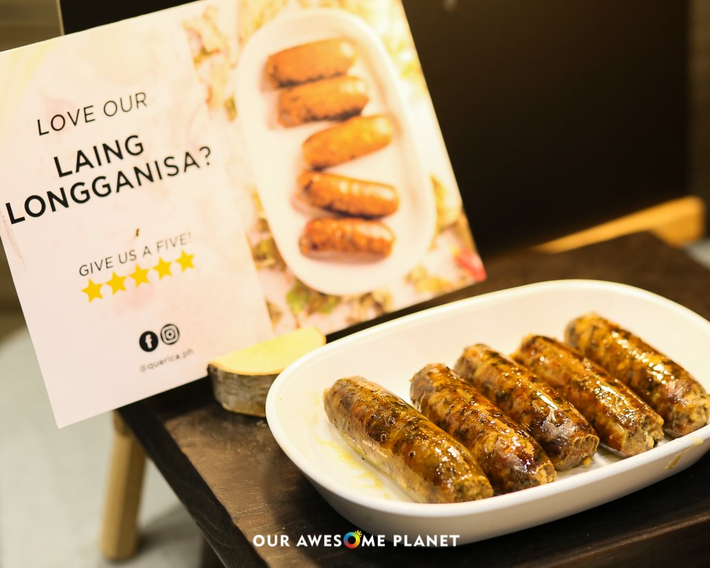 Laing Longganisa (Regular and Spicy) ₱300, Keto Vegetarian Laing ₱200