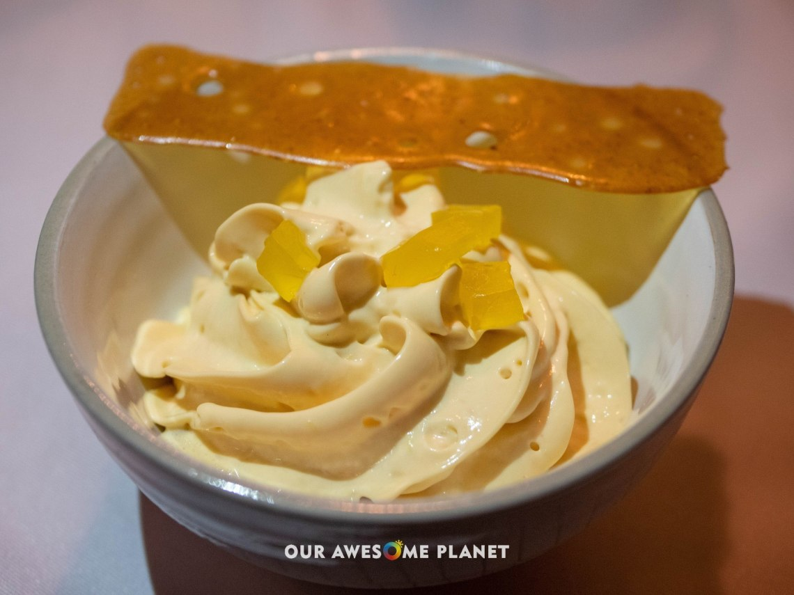 Crema Catalana en texturas by Chef Alfredo