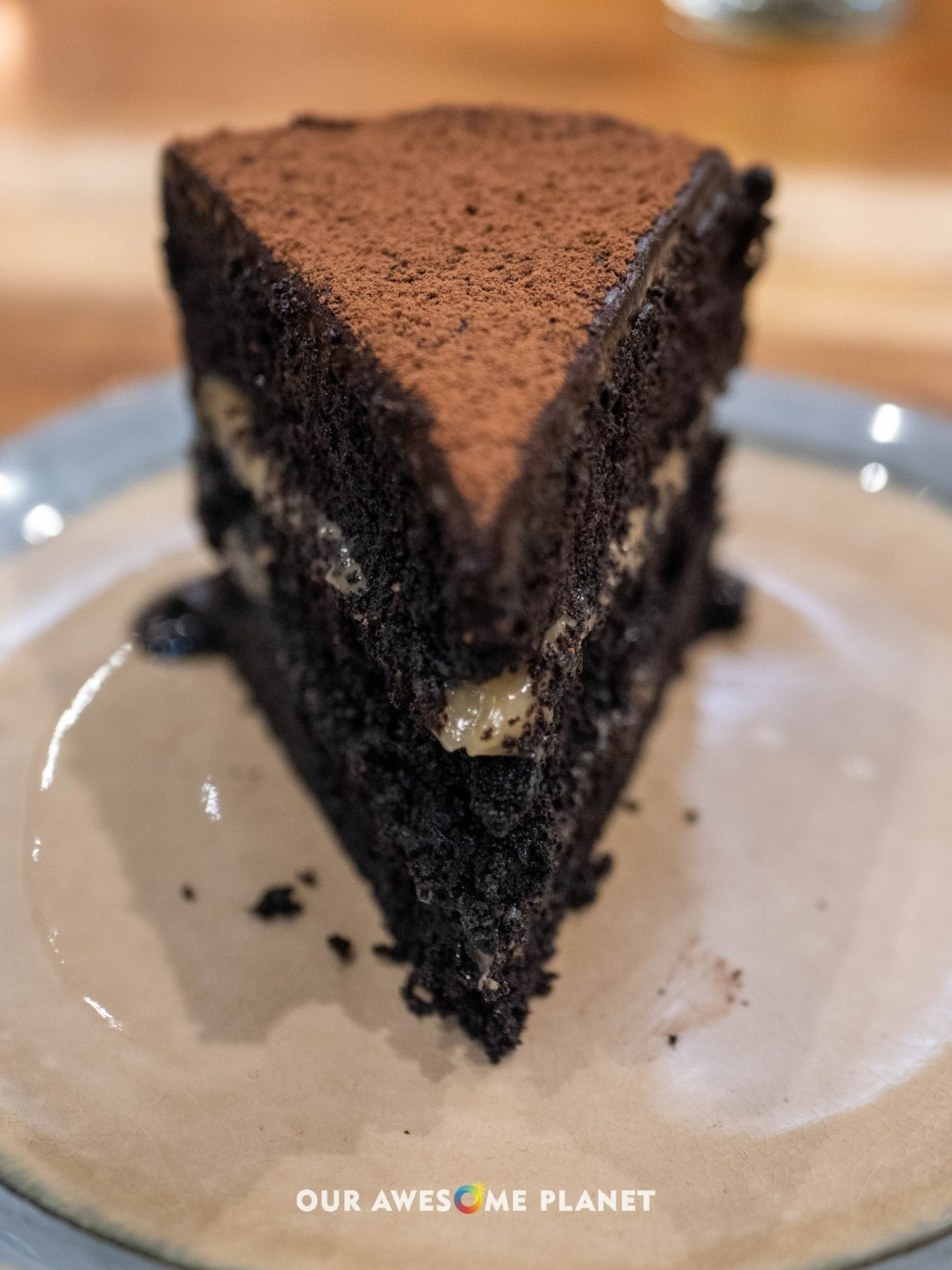 Dark Choc-Nut Cake