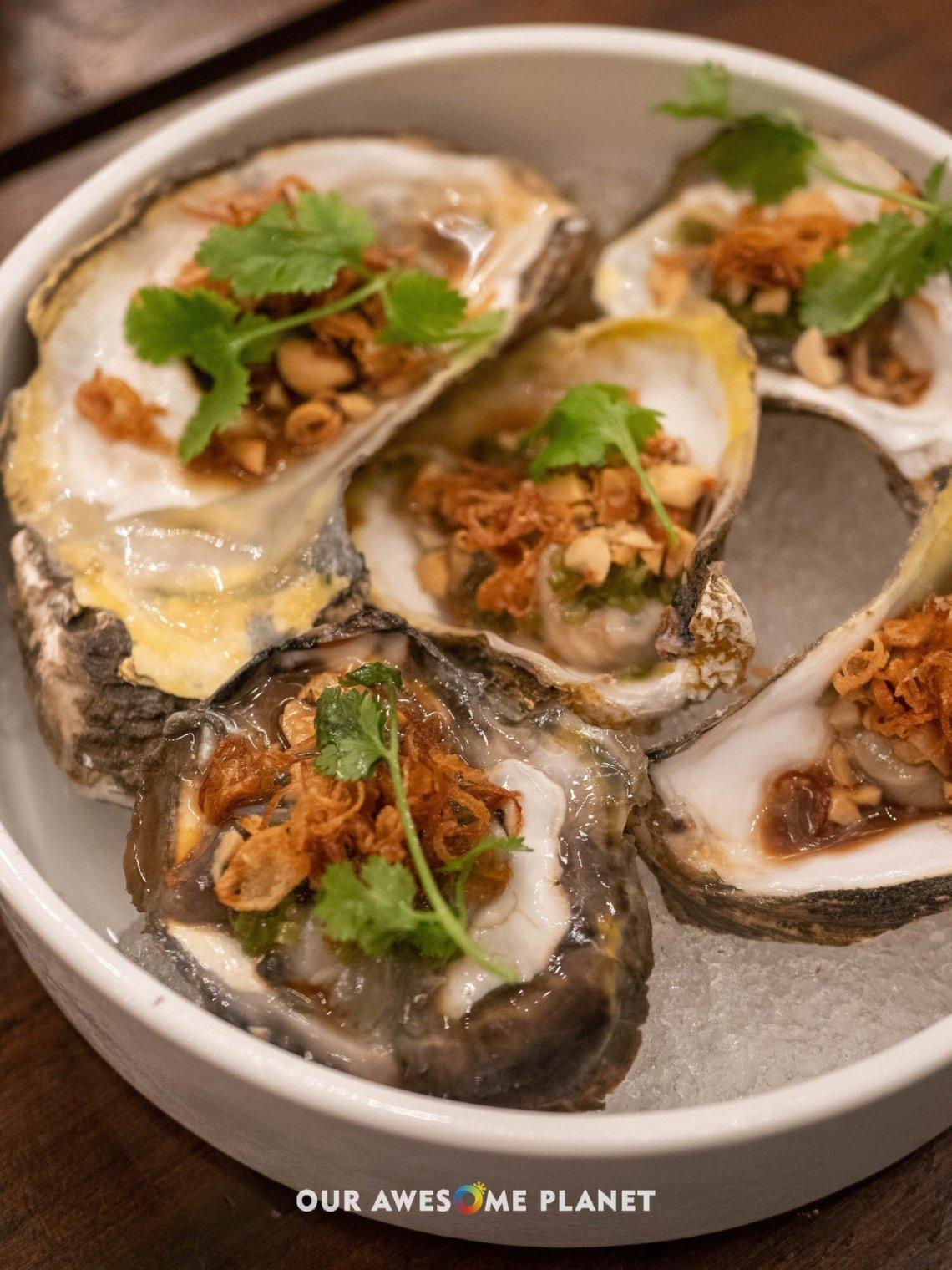 Fresh Oysters (₱250)