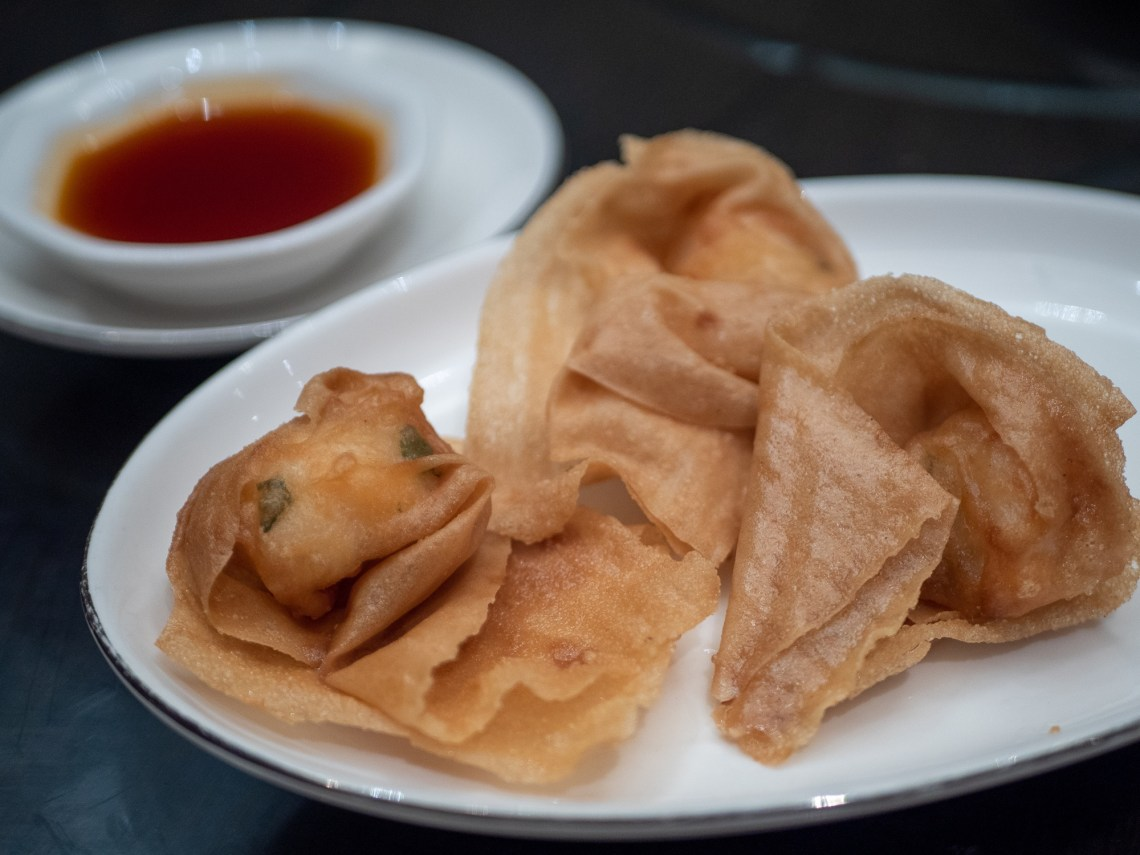 Fried wanton, sweet sour sauce