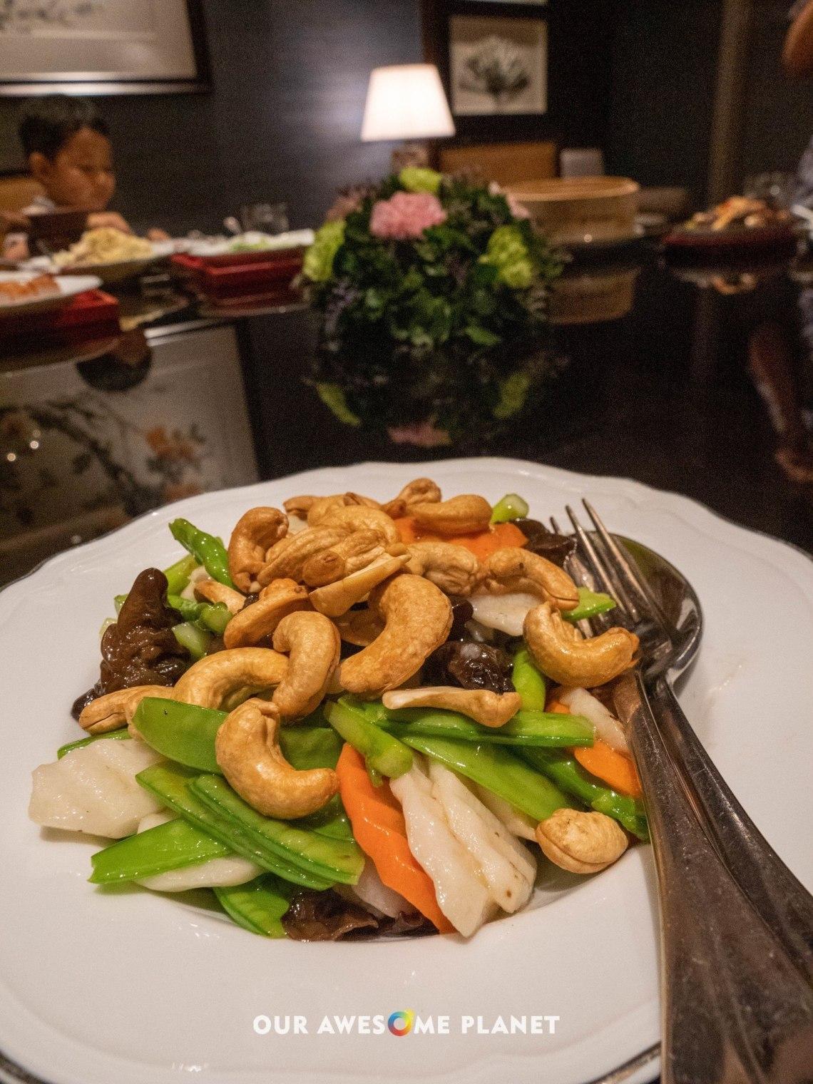 Wok-fried Chinese Yam, Asparagus