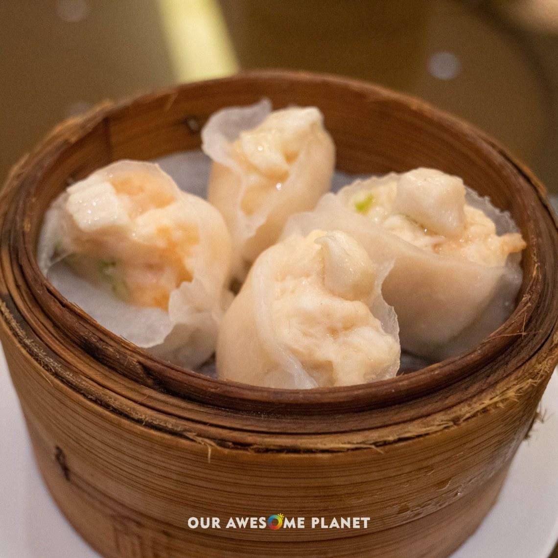 Steamed Scallops Dumpling