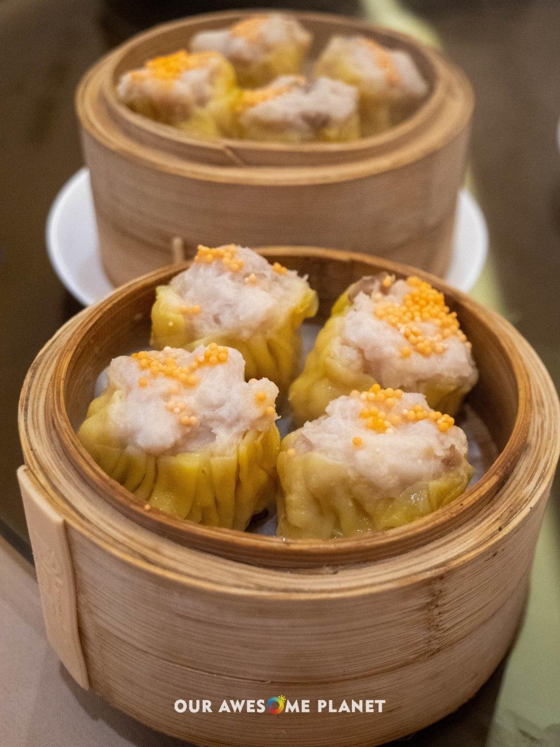Steamed Pork and Shrimps Dumpling
