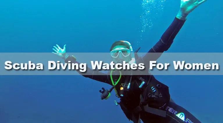 Scuba Diving Watches for women