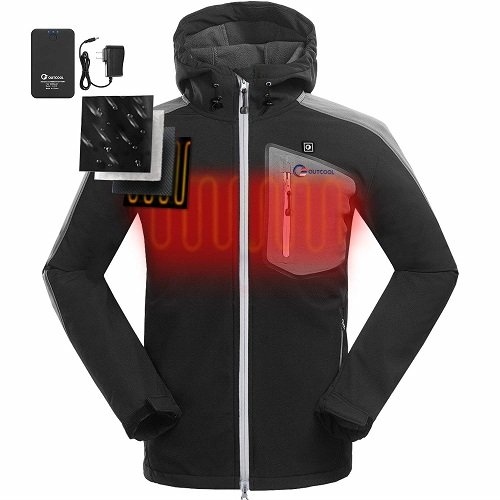 OUTCOOL Heated Jacket for Men