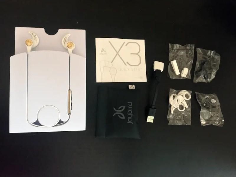 Jaybird X3 accessories