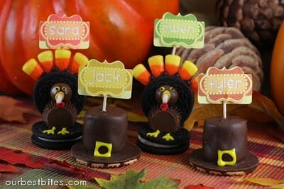 Oreo Thanksgiving Turkeys