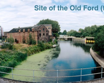 Site of the Old Ford, Bow, London