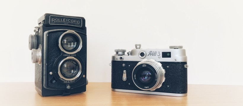 Old camera collection