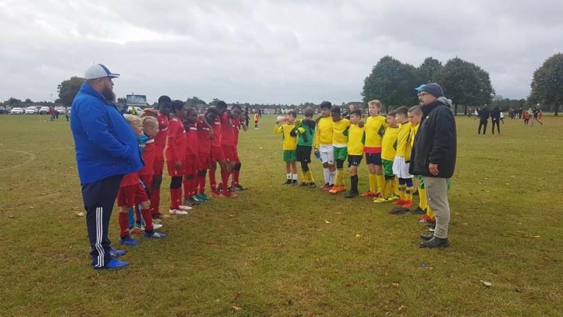 Gatcliffe Whites vs Redbridge team line-up