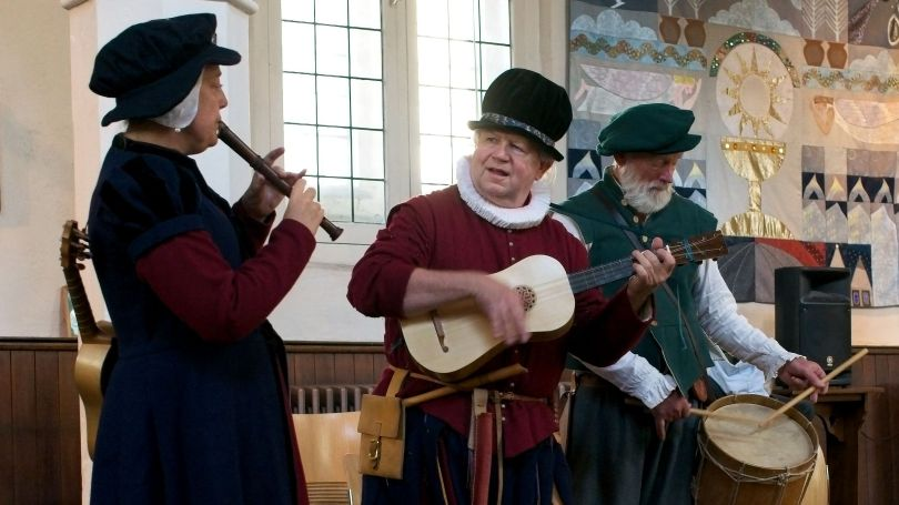 Tudor Sights and Sounds at Bow Church