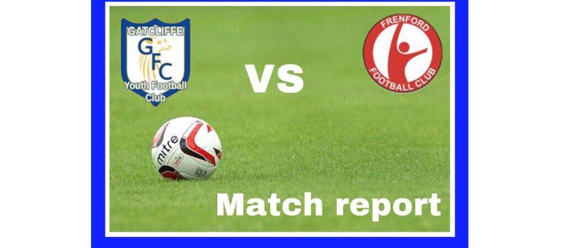 Gatcliffe Whites V Frenford FC match report