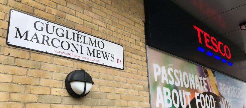 Gugliemo Marconi Mews, Bow, London