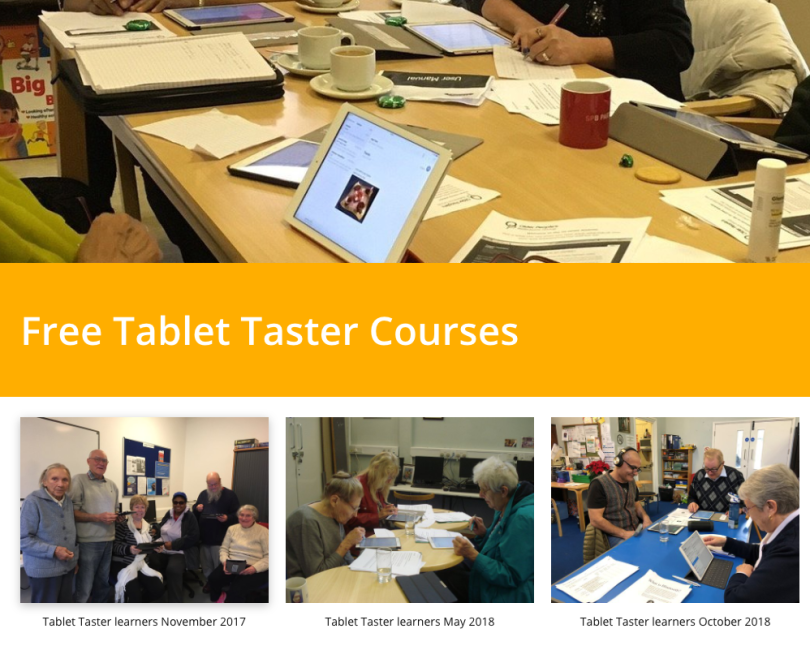 Tablet Taster Courses