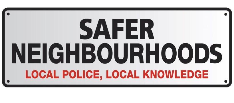 Safer Neighbourhoods header image