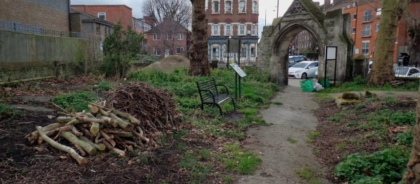 St Leonard's Cemetery needs a bit of TLC to turn it into a park