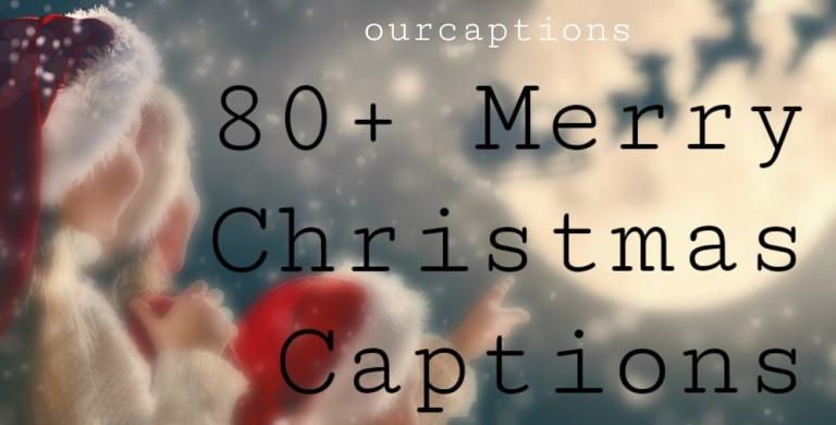 Christmas captions for Instagram