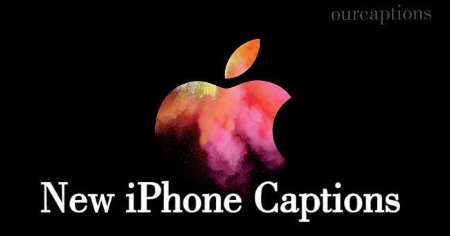 New iPhone captions