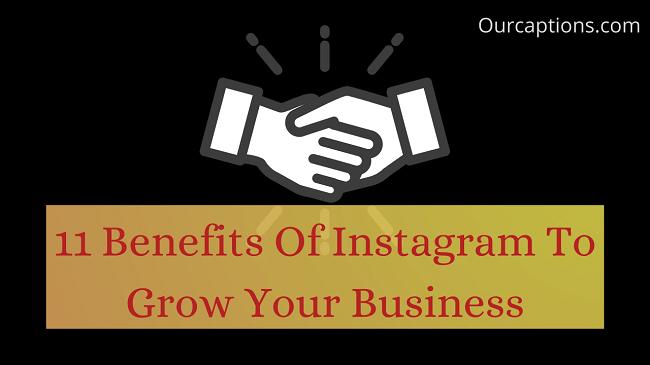 benefits of Instagram and potentials