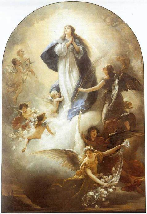 Image result for assumption of mary images