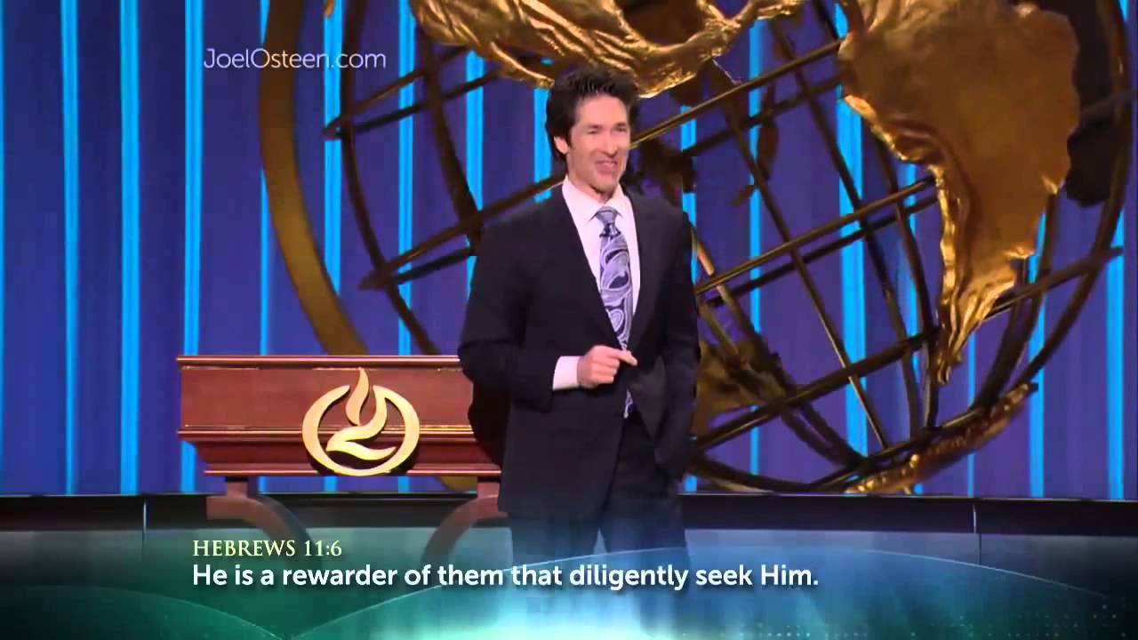 Joel Osteen – How to feel God Presence in your