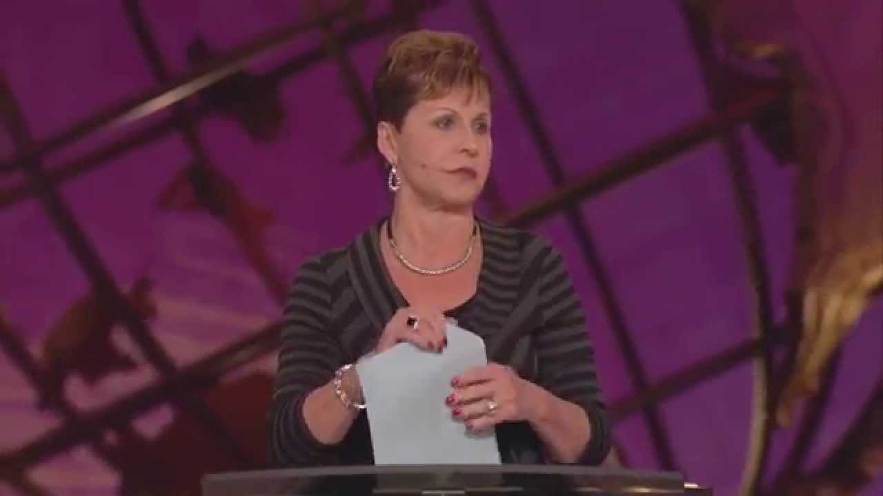 Joyce Meyer – Focus on The Positive Things in Life