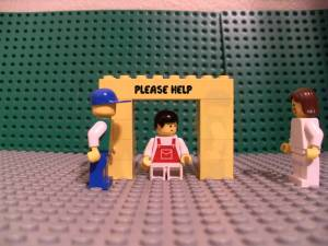 Lego music video-TobyMac-Me Without You