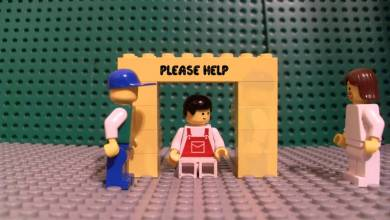 Photo of Lego music video-TobyMac-Me Without You