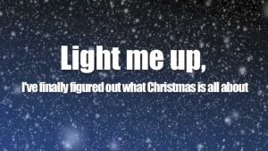 Owl City – Light of Christmas ft. TobyMac (Lyric Video)