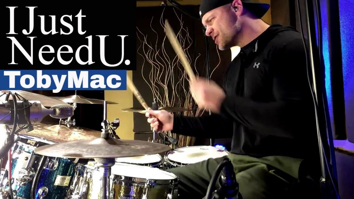 TobyMac – I Just Need U Drum Cover (High Quality Audio) ⚫⚫⚫