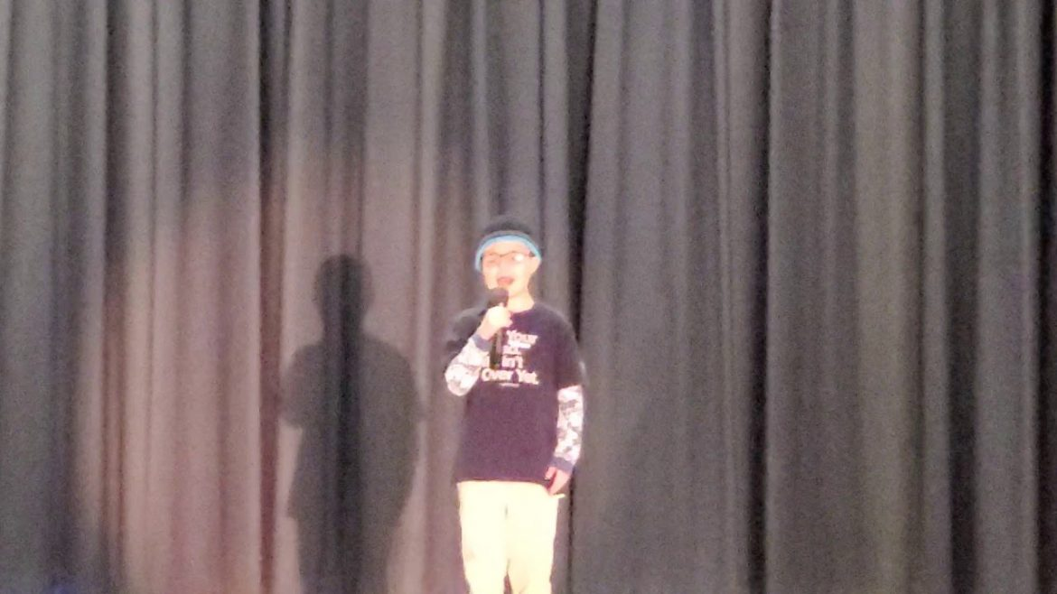 Talent Show – Ethan Dean – TobyMac Speak Life – 2nd Show