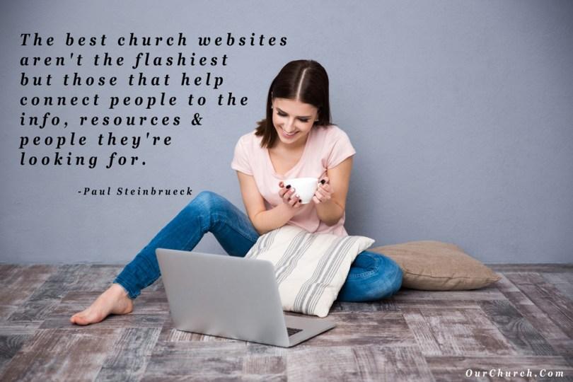 best church websites