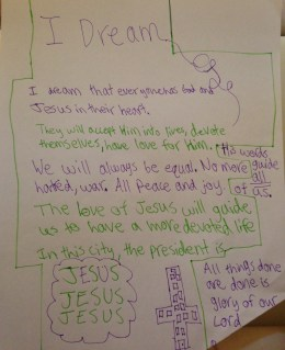 Dreams: In This City the president is JESUS