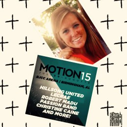 Bright Spot: Motion15 Student Conference~Camille Shockley