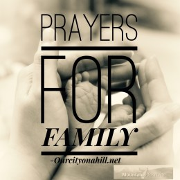 Prayers for Family